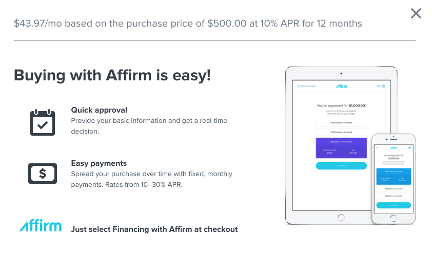 Buy Now, Pay Later with Affirm - Superchips