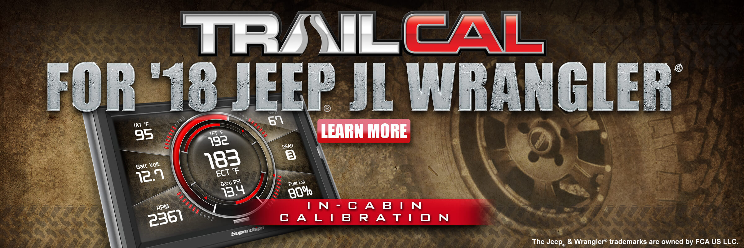 TrailCal for JL Wrangler