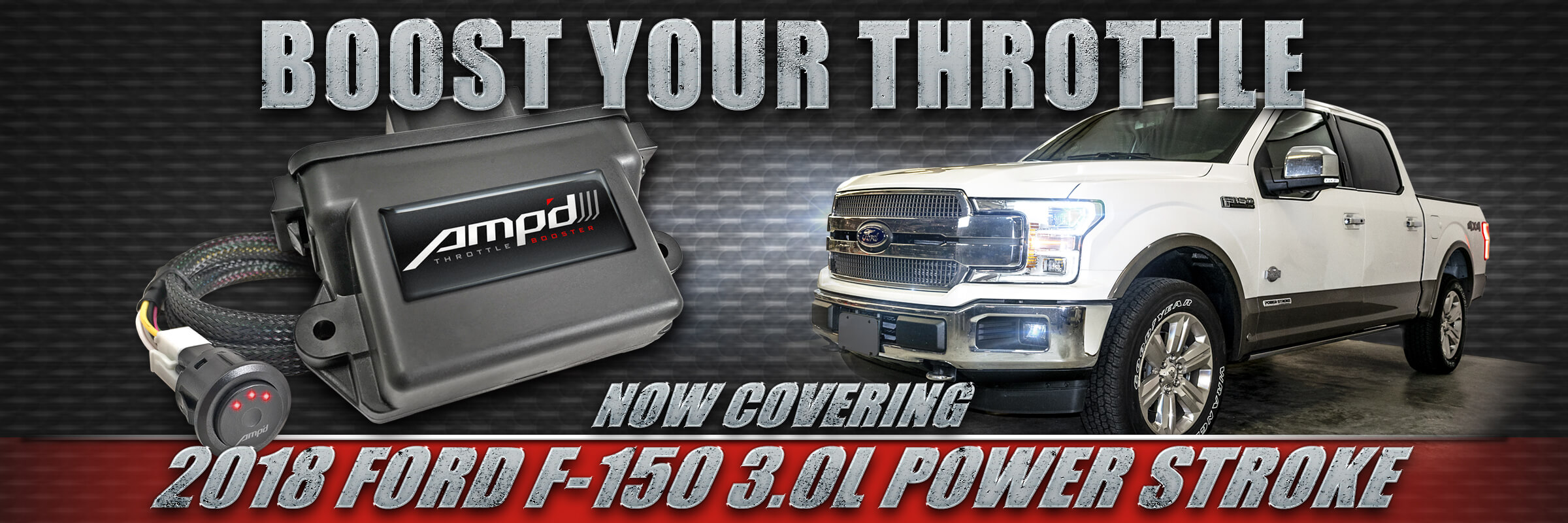 2018 ford f 150 3 0l power stoke diesel now supported by ampd throttle booster
