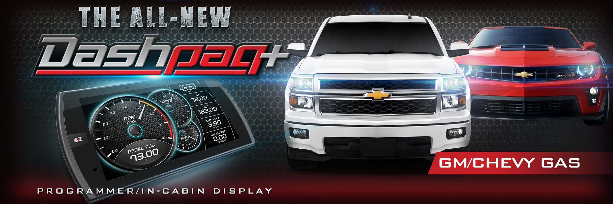 Superchips Dashpaq+ for GM Gas Vehicles  The Ultimate Chevy Programmer
