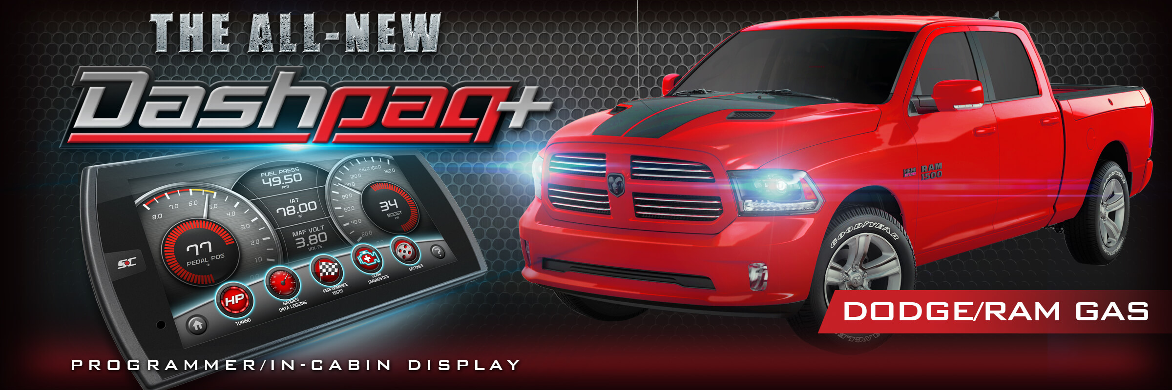Shop For The Superchips Dashpaq For Ram Programmer Dodge Tuner For Gas Vehicles Today Free Shipping