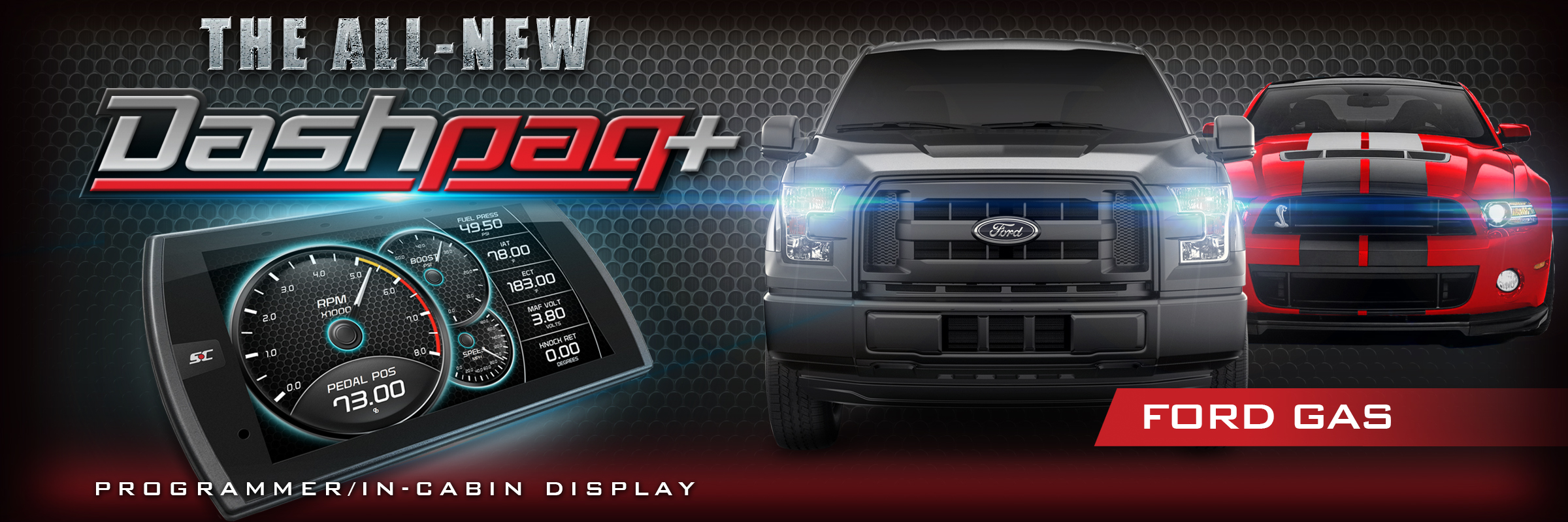 Add Horsepower and Torque to Your Ford Gas Vehicle with Superchips