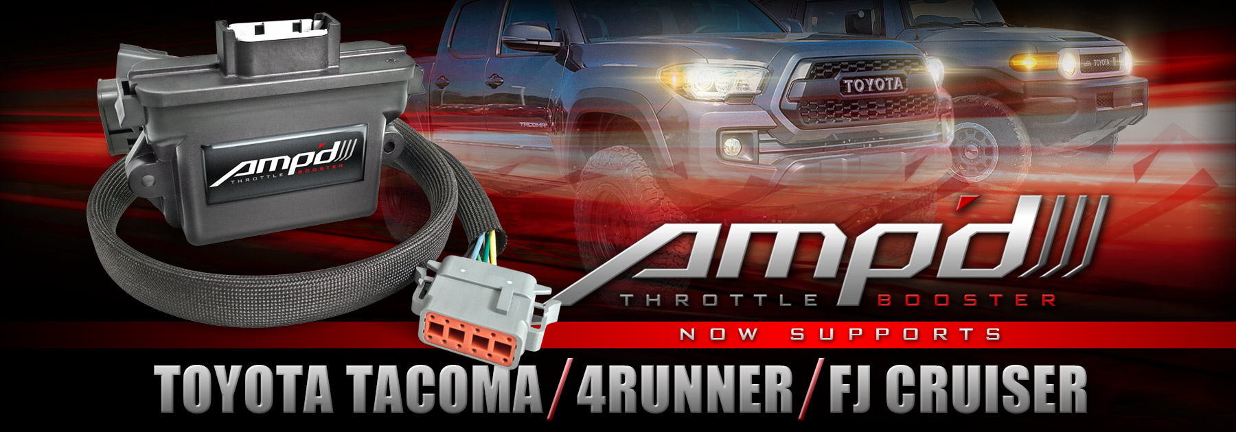 Toyota Ampd Throttle Booster