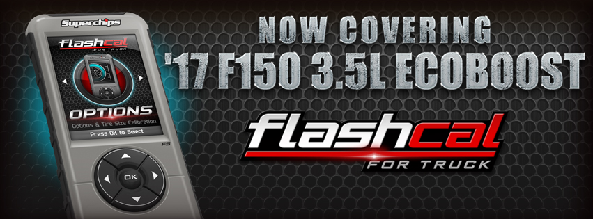 2017 F150 3.5L Ecoboost Now Supported on Flashcal - Superchips