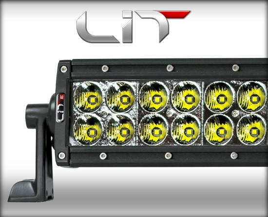 LIT LED 30 Curved Double Row 5 Watt Combo w/Power Switch