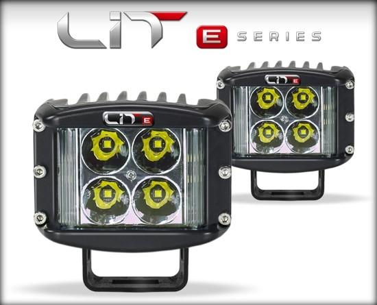 LIT E-Series Wide Shot Pod Pair 5 Watt Flood w/Power Switch