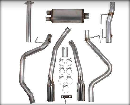 2011-2014 Ford F150 EcoBoost 3.5L V6, Stainless Steel Cat-Back, Dual Exit