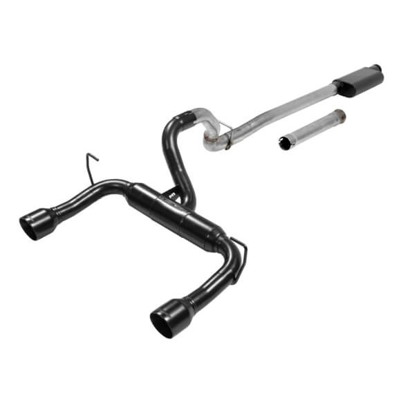 Flowmaster Outlaw Cat-back Exhaust System for 18-19 Jeep Wrangler JL 3.6L 2/4 Door