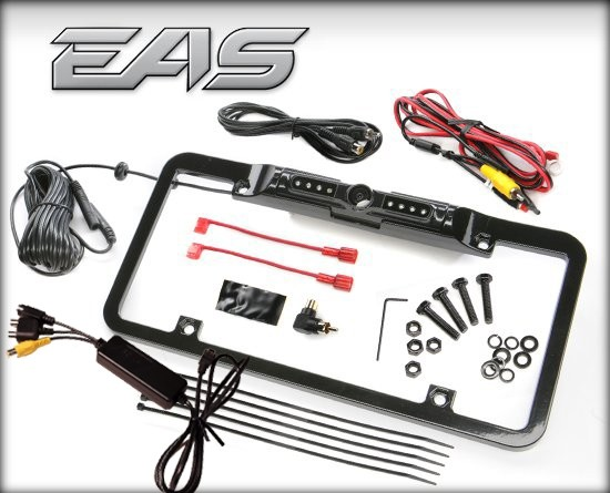 BACK-UP CAMERA LICENSE PLATE MOUNT FOR DASHPAQ+ PRODUCTS