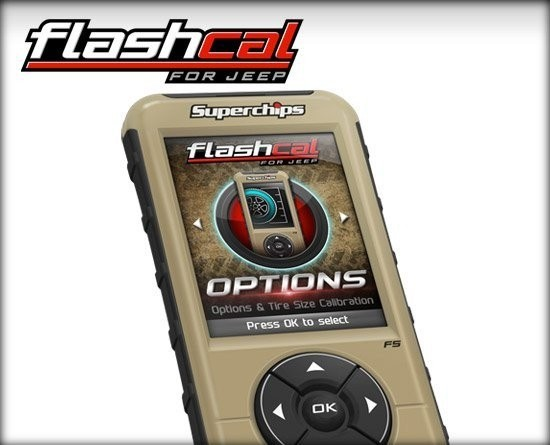Flashcal for JT Gladiator
