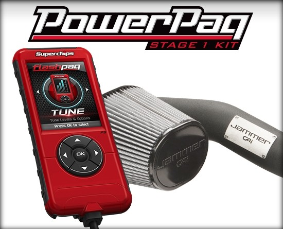 Stage 1 Powerpaq for 14-17 GM Trucks