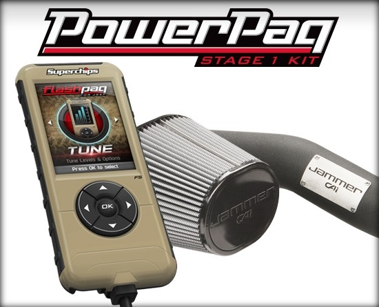 Stage 1 Powerpaq for 15 -18 Wrangler® JK