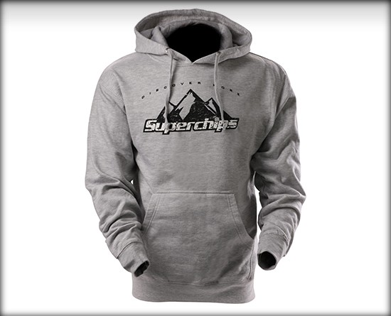 Superchips Grey Hoodie